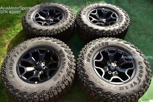 "18"" Dodge Ram 1500 TRX OEM Factory Wheels Goodyear LT325/65R18 2022 2021"