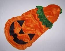 Martha Stewart Pets Halloween Pumpkin Jack o Lantern Plush Dog Costume Size XL