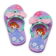 Disney Sofia the First Flipflops Girls Sandles Shoes Flip Flops Size 7/8