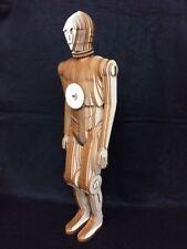 C3P0 Droid, Laser Cut Wooden 3D Model/Puzzle Kit