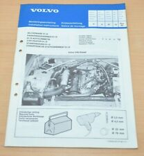 Volvo 240 Diesel Standheizung 01-D Einbauanleitung Heizung Car Heater 1980