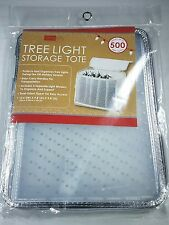 NWT Simplify Christmas Tree Light Storage Tote  w/ Carry Handle