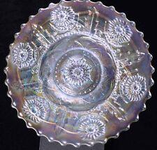 Carnival Glass - Dugan - PERSIAN GARDEN - White Plate
