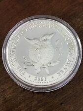 2001 Australian Kookaburra Silver Coin - 1 Oz .999 Fine