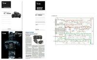 """ICOM IC-7000 COPY INSTRUCTION + SERVICE MANUALS + BROCHURE + 11x17"""" SCHEMATICS +"""