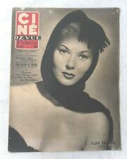 CINE-REVUE 26 mai 1951 TILDA THAMAR Montgomery CLIFT Elizabeth TAYLOR CHANDLER