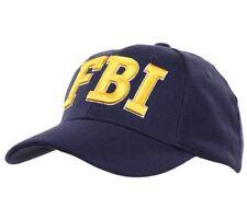 US Baseball Cap Blue FBI Federal Investigation NSA Nato Pentagon Officer DEA
