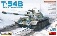 Miniart 1/35 T-54B tanque soviético principios de producción Interior Kit # 37011
