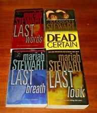 Mariah Stewart  - lot of 4 pb books