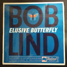 """Bob Lind – Elusive Butterfly EP 7"""" Australian Issue 1966 Festival Records"""