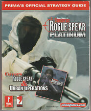 Rogue Spear Urban Operations Prima's Official Stategy Guide Rainbow Six PC