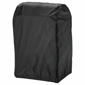 IKEA TOSTERO Waterproof Black Cover Protect Barbecue BBQ /w Hook and Loop Straps