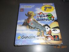 Point Blank 2 (Sony PlayStation 1, 1999) Guncon Bundle, New and Sealed