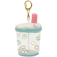 NEW San-X Sumikko Gurashi Sumikkogurashi Keychain Carry Cup Plush Doll Stuffed
