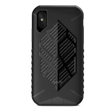 """Moshi Talos Extreme Drop Protection Case for iPhone XS/X 5.8"""" Stealth Black"""