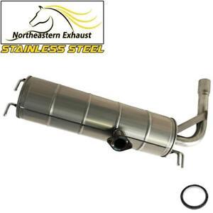 Stainless Steel Exhaust Muffler Tail Pipe fits: 2001-2005 Toyota Rav4