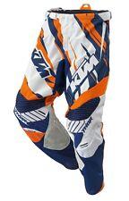 KTM - Pantalon MX  Moto Course  CORE  T : S  Bleu Orange  neuf 3PW15222202