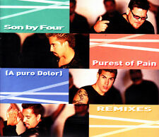 SON BY FOUR - A PURO DOLOR - PUREST OF PAIN REMJXES CD SINGLE 8 TRACKS 2001 EX
