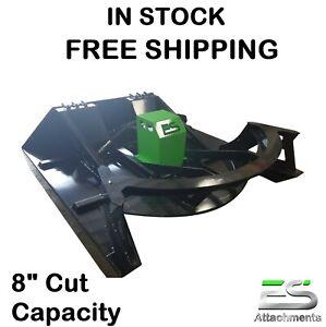 "72"" HD ES BRUSH CUTTER / MOWER -NEW- SKID STEER -FREE SHIPPING- CTL MTL LOADER"