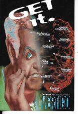 D.C COMICS POSTCARD FOR VERTIGO CIRCA 1999 UNUSED