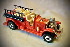 Vintage 1980 Hot Wheels - Old Number 5 - Red Fire Truck
