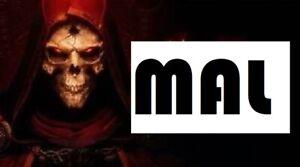 MAL RUNE - DIABLO 2 RESURRECTED SOFTCORE D2R