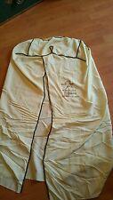 Vintage 1950 William Baer Furs garment bag Tropicana Hotel Las Vegas