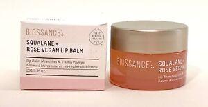 Biossance Squalane + Rose Vegan Lip Balm .35 OZ.