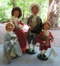4 Pcs Byers Choice Carolers Lady Dunsmore's Arrival Lord Dunmore Mint w Labels