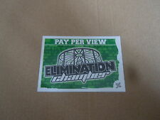Carte catch Slam Attax Mayen 2010 Vert - Elimination Chamber