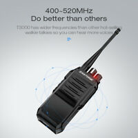 Zastone T3000 6W Walkie Talkie UHF 400-520mhz Ham Radio 5km two way Radio