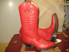 Tony Mora Womens Red boot 650 Size 5.5 New