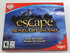 PopCap Escape Rosecliff Island  Find the Clues Escape the Islang! PC/MAC NEW
