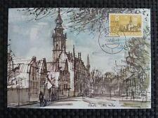 NETHERLANDS MK 1965 VEERE MAXIMUMKARTE CARTE MAXIMUM CARD MC CM c3687