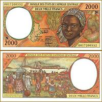 CENTRAL AFRICAN STATES , EQUATORIAL GUINEA 2000 FRANCS 2000 ,UNC ,P-503Ng