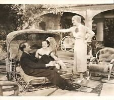 """HELEN WOOD, MINNA GOMBELL & THOMAS BECK in """"Champagne Charlie"""" Original 1936"""