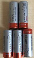 5 Alkaline Batterie Power One VARTA 23A 12V Volt p23ga 8LR932 Mn21 V23GA A23 Ø10