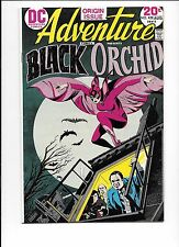 Adventure Comics #428 origin 1st appearance Black Orchid #429 #430 complete set