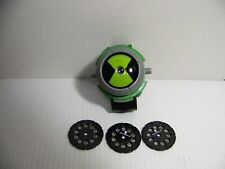 Ben 10 Original Omnitrix Light Projection Viewer Watch 2008 3 Discs
