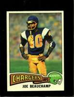 1975 TOPPS #124 JOE BEAUCHAMP EX CHARGERS  *XR17184
