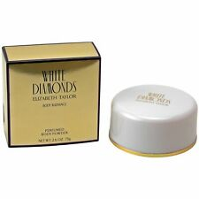 Elizabeth Taylor White Diamonds 75 g Perfumed Body Powder Puder
