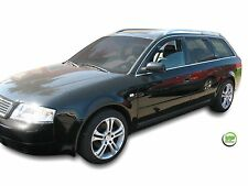 Dau10214 WIND DEFLETTORI AUDI A6 C5 ESTATE 5-door 1997-2003 4-pc HEKO COLORATO