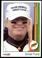 Donald Trump 1989 Upper Deck Griffey Style Baseball Card