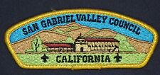 SAN GABRIEL VALLEY COUNCIL OA 40 TA TANKA 488 FLAP PATCH RARE VARIETY CSP