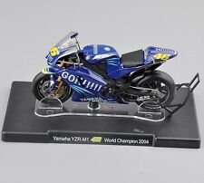 1/18 VALENTINO ROSSI Yamaha YZR-M1 #46 World Champion 2004 Motorcycle Bike Toy