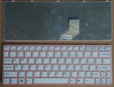 For sony VAIO E11 SVE11 SVE 11 SVE11115ELB Keyboard US Teclado Pink
