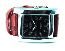 Womens ISA K63 Activa Swiss Black Dial WR 30m Stainless 495494 Not Running Watch