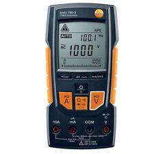 TESTO 760-3 DIGITAL MULTIMETER TRUE RMS 0.1mV to 1000V AC/DC AUTO DETECT TESTING