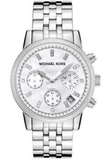 Michael Kors Stainless Steel Band Quartz Battery Wristwatches