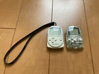Sony PocketStation PlayStation PS Crystal & White SCPH-4000 Japan P65